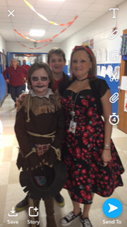 Family Night - Ghouls at School